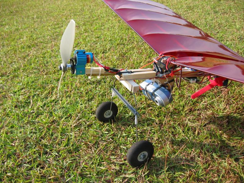 RC Plane Aerial Photography At SWAMPSRC Field In Wake County NC